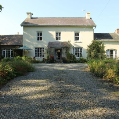 4 star bed and breakfast Haroldston Hall Country House Broad Haven Pembrokeshire West Wales