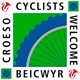 cyclists welcome Pembrokeshire
